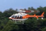 Assk5338さんが、松本空港で撮影した新日本ヘリコプター 407の航空フォト(飛行機 写真・画像)