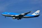 げんこつさんが、成田国際空港で撮影したKLMオランダ航空 747-406Mの航空フォト(写真)