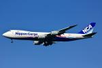 げんこつさんが、成田国際空港で撮影した日本貨物航空 747-8KZF/SCDの航空フォト(写真)