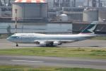 ANA744Foreverさんが、羽田空港で撮影したキャセイパシフィック航空 747-412の航空フォト(写真)