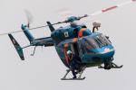 宇都宮飛行場 - JGSDF Camp Kita-Utunomiya [RJTU]で撮影された栃木県警察 - Tochigi Policeの航空機写真