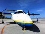 kumagorouさんが、北大東空港で撮影した琉球エアーコミューター DHC-8-103Q Dash 8の航空フォト(写真)