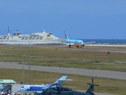 うすさんが、新潟空港で撮影した大韓航空 737-9B5の航空フォト(写真)