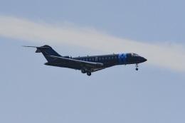 tsubasa0624さんが、羽田空港で撮影したアメリカ企業所有 BD-700 Global Express/5000/6000の航空フォト(写真)
