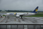 kumagorouさんが、茨城空港で撮影したスカイマーク 737-81Dの航空フォト(飛行機 写真・画像)