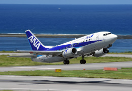tsubasa0624さんが、石垣空港で撮影したANAウイングス 737-5L9の航空フォト(飛行機 写真・画像)