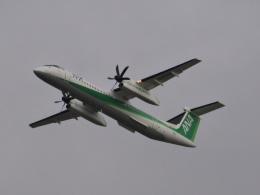ぷかちさんが、新千歳空港で撮影した全日空 DHC-8-402Q Dash 8の航空フォト(飛行機 写真・画像)