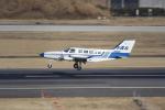 Koenig117さんが、名古屋飛行場で撮影した府中エアサービス 402Bの航空フォト(飛行機 写真・画像)