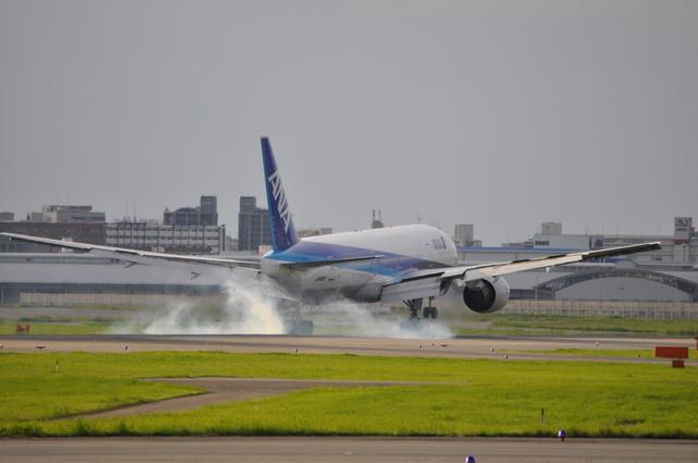 あっしーさんが、福岡空港で撮影した全日空 777-281の航空フォト(飛行機 写真・画像)