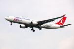 スワンナプーム国際空港 - Suvarnabhumi International Airport [BKK/VTBS]で撮影されたターキッシュ・エアラインズ - Turkish Airlines [TK/THY]の航空機写真