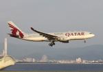 PGM200さんが、関西国際空港で撮影したカタール航空 A330-202の航空フォト(飛行機 写真・画像)