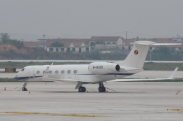 xingyeさんが、煙台蓬莱国際空港で撮影したNSJ-Nanshan Jet G500/G550 (G-V)の航空フォト(飛行機 写真・画像)