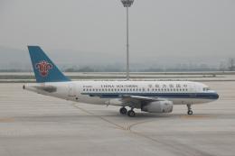 xingyeさんが、煙台蓬莱国際空港で撮影した中国南方航空 A319-132の航空フォト(飛行機 写真・画像)