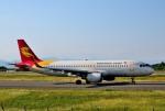 mojioさんが、静岡空港で撮影した北京首都航空 A320-214の航空フォト(飛行機 写真・画像)