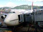 香港国際空港 - Hong Kong International Airport [HKG/VHHH]で撮影された日本航空 - Japan Airlines [JL/JAL]の航空機写真