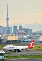 Cygnus00さんが、羽田空港で撮影したカンタス航空 747-438の航空フォト(写真)