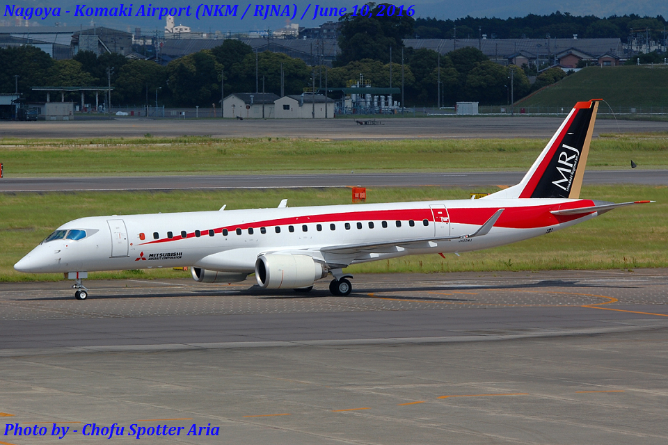 Chofu Spotter Ariaさんの三菱航空機 Mitsubishi SpaceJet M90 (JA22MJ) 航空フォト