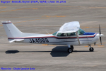 Chofu Spotter Ariaさんが、名古屋飛行場で撮影した学校法人ヒラタ学園 航空事業本部 172P Skyhawkの航空フォト(飛行機 写真・画像)