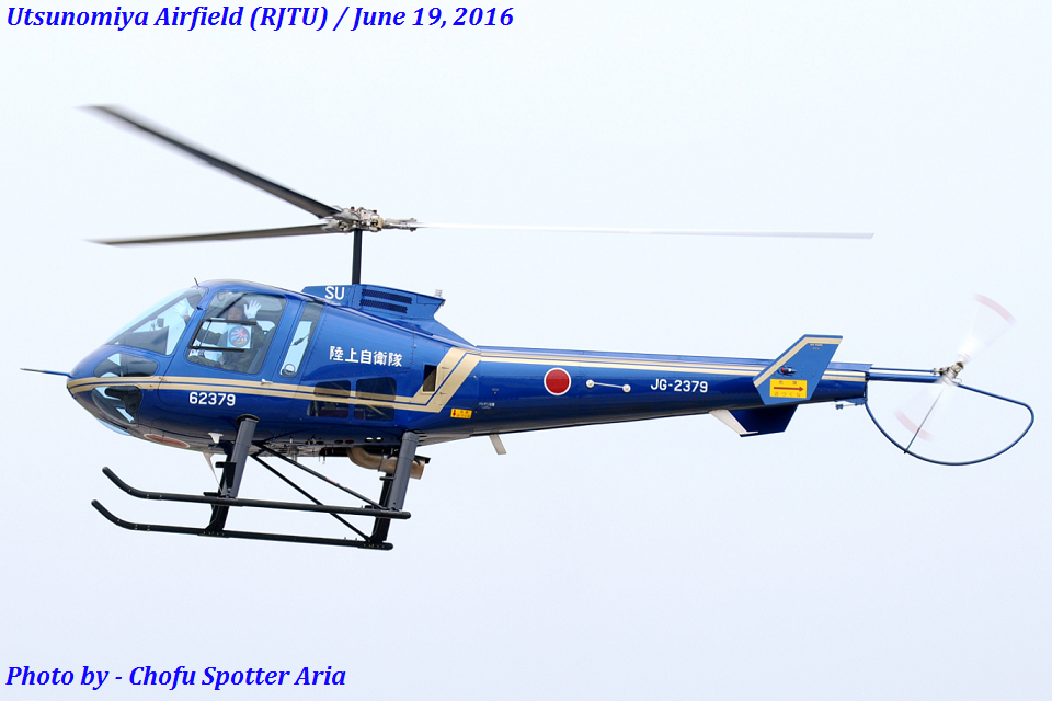 Chofu Spotter Ariaさんの陸上自衛隊 Enstrom 480 (62379) 航空フォト