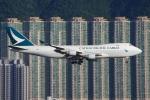 zettaishinさんが、香港国際空港で撮影したキャセイパシフィック航空 747-467F/ER/SCDの航空フォト(写真)