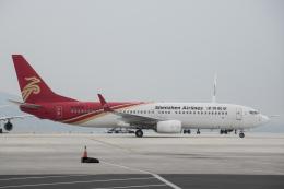 xingyeさんが、煙台蓬莱国際空港で撮影した深圳航空 737-87Lの航空フォト(飛行機 写真・画像)