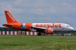 だいせんさんが、ロンドン・スタンステッド空港で撮影したイージージェット A319-111の航空フォト(写真)