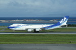 kumagorouさんが、那覇空港で撮影した日本貨物航空 747-4KZF/SCDの航空フォト(写真)