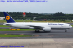 Chofu Spotter Ariaさんが、成田国際空港で撮影したルフトハンザ・カーゴ 777-FBTの航空フォト(写真)