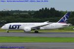 Chofu Spotter Ariaさんが、成田国際空港で撮影したLOTポーランド航空 787-8 Dreamlinerの航空フォト(飛行機 写真・画像)