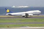 ANA744Foreverさんが、羽田空港で撮影したルフトハンザドイツ航空 747-830の航空フォト(写真)