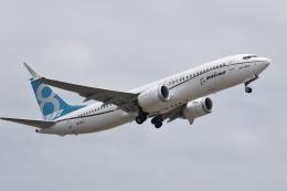 romyさんが、ボーイングフィールドで撮影したボーイング 737-8-MAXの航空フォト(写真)