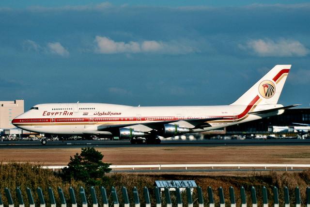エジプト航空 Boeing 747-300 SU-GAL 成田国際空港  航空フォト | by サンドバンクさん