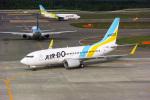 delawakaさんが、新千歳空港で撮影したAIR DO 737-781の航空フォト(飛行機 写真・画像)