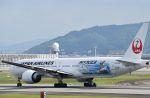 JAA DC-8さんが、伊丹空港で撮影した日本航空 777-346/ERの航空フォト(飛行機 写真・画像)