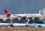 香港国際空港 - Hong Kong International Airport [HKG/VHHH]で撮影されたヴァージン・アトランティック航空 - Virgin Atlantic Airways [VS/VIR]の航空機写真