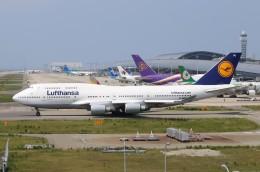 航空フォト:D-ABVU ルフトハンザドイツ航空 747-400