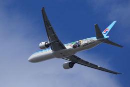 夏奈さんが、成田国際空港で撮影した大韓航空 777-3B5/ERの航空フォト(写真)