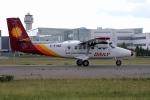 北の熊さんが、新千歳空港で撮影した徳安航空 DHC-6-400 Twin Otterの航空フォト(写真)