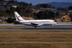 LEVEL789さんが、岡山空港で撮影したチャイナエアライン 737-209/Advの航空フォト(飛行機 写真・画像)