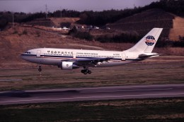 LEVEL789さんが、岡山空港で撮影した中国西北航空 A310-222の航空フォト(飛行機 写真・画像)