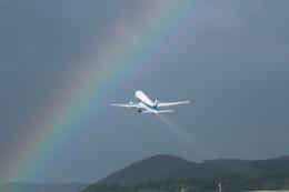 tutomuさんが、岡山空港で撮影した全日空 767-381/ERの航空フォト(写真)