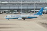 山河 彩さんが、関西国際空港で撮影した厦門航空 737-86Nの航空フォト(飛行機 写真・画像)