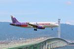山河 彩さんが、関西国際空港で撮影した香港エクスプレス A320-232の航空フォト(飛行機 写真・画像)
