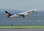 じーく。さんが、羽田空港で撮影したスカイマーク 737-81Dの航空フォト(飛行機 写真・画像)