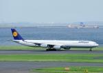 じーく。さんが、羽田空港で撮影したルフトハンザドイツ航空 A340-642Xの航空フォト(写真)