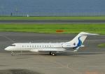 じーく。さんが、羽田空港で撮影したウィルミントン・トラスト・カンパニー BD-700 Global Express/5000/6000の航空フォト(飛行機 写真・画像)
