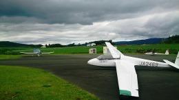本田伝説さんが、スカイポートきたみで撮影した日本法人所有 ASK 13の航空フォト(飛行機 写真・画像)