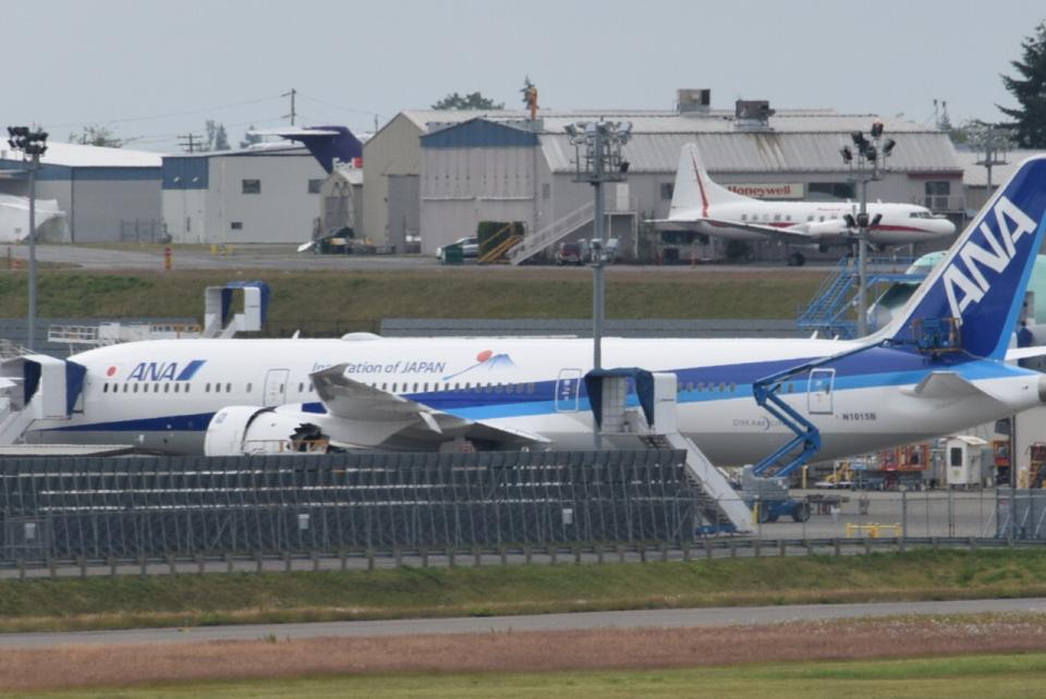 romyさんの全日空 Boeing 787-9 (N1015B) 航空フォト