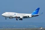 RUSSIANSKIさんが、デンパサール国際空港で撮影したガルーダ・インドネシア航空 747-4U3の航空フォト(飛行機 写真・画像)