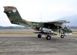 RA-86141さんが、チェンマイ国際空港で撮影したタイ王国空軍 OV-10C Broncoの航空フォト(写真)
